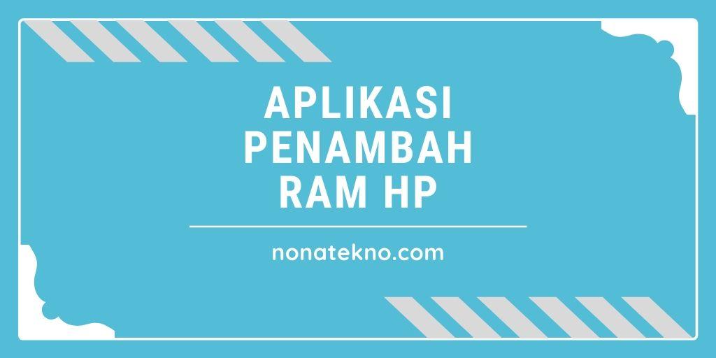 Aplikasi Penambah RAM HP