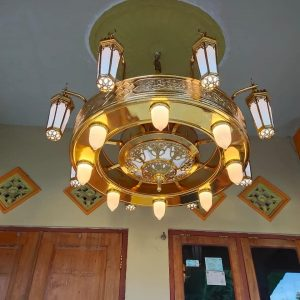 lampu hias tembaga kuningan boyolali