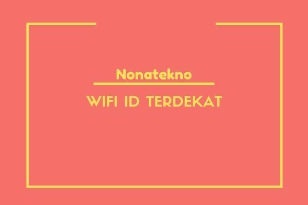 wifi id terdekat